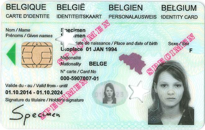 Carte D Identite Electronique Pour Belges Ixelles