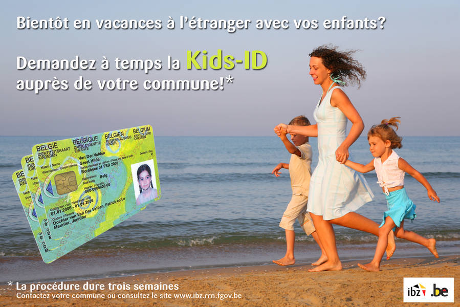 Belgique Carte Identite Bebe.Kids Id Kids Id Ibz Institutions Et Population
